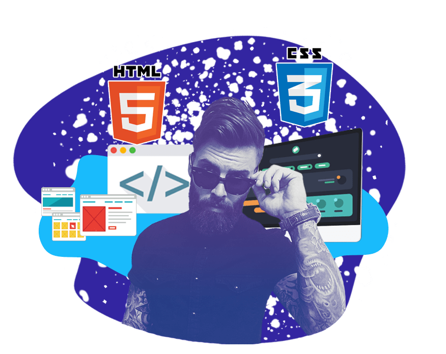 Курсы HTML+CSS<br> Вёрстка сайтов  Санкт-Петербурге