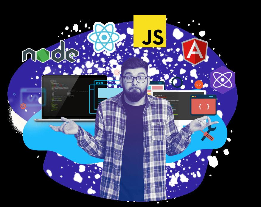 Курсы Javascript <br> Full-Stack разработка Санкт-Петербурге